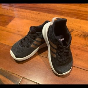 Grey/Purple Adidas Racer TR Running Shoes